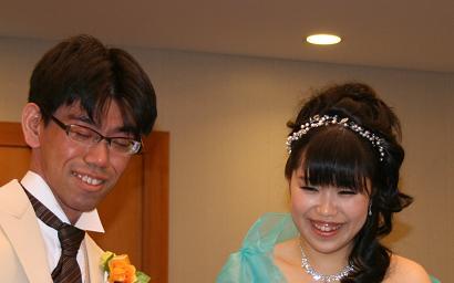 真弓結婚式